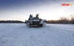 """""""Lột xác"""" xe tăng T-72"""