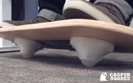 Chiếc ván không trượt Casper Board này chính là vị cứu tinh cho những người suốt ngày ngồi lì trong văn phòng