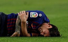 Sau 12 phút thiên tài, Messi dính chấn thương ghê rợn