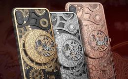 Chiêm ngưỡng iPhone Xs đầu tiên trên thế giới gắn đồng hồ cơ giá hàng trăm triệu đồng