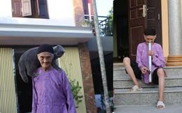 Cụ bà 93 tuổi với sở thích chụp ảnh, khiến người khác bật cười vì tấm hình hút thuốc lào