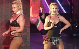 Britney Spears lộ eo ngấn mỡ, dáng thô khi diện đồ gợi cảm quá mức