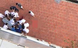 Nam bệnh nhân nhảy từ tầng 6 bệnh viện ở Hà Nội xuống đất tử vong