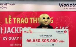 Nữ khách hàng ở Quảng Ninh lĩnh thưởng giải Jackpot 66,6 tỷ đồng