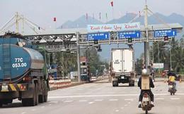BOT Bắc Bình Định bị dừng thu phí vì đường hỏng