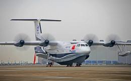 """Chuyên gia: Trung Quốc đang khoác cái mác """"dân sự"""" lên siêu thủy phi cơ AG600"""