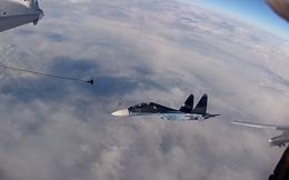 Xem chiến đấu cơ Nga tiếp nhiên liệu trên không siêu đẳng