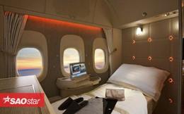 Hoá ra trên máy bay còn có những phòng ngủ bí mật cho phi hành đoàn mà không phải ai cũng biết