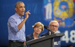 """Cựu Tổng thống Obama """"lật tung"""" chính trường trước bầu cử giữa kỳ Mỹ"""