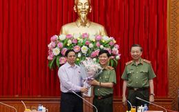 Đảng ủy Công an Trung ương công bố Quyết định của Bộ Chính trị về công tác cán bộ