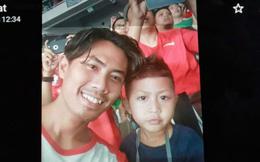 """Rơi máy bay Indonesia: Xót xa bức ảnh """"nụ cười cuối cùng"""" của hai bố con đi xem bóng đá, vĩnh viễn không trở về"""