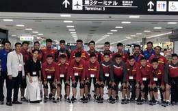 Đội tuyển U17 Việt Nam có mặt tại Nhật Bản, sẵn sàng tham dự giải Jenesys 2018