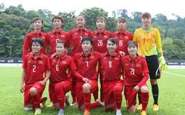 Tuyển nữ Việt Nam tăng 1 bậc trên bảng xếp hạng FIFA