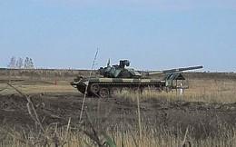 Những chiếc xe tăng T-90S Việt Nam đã xuất hiện trên thao trường Nga