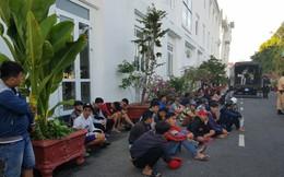 Cảnh sát vây bắt gần 100 thanh niên tham gia cổ vũ, đua xe trên quốc lộ 1