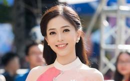 Chưa chính thức chinh chiến nhưng Phương Nga đã được Global Beauties bình chọn trong Top thí sinh nổi bật tại Miss Grand International
