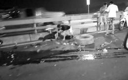 Hé lộ nguyên nhân chủ xe ô tô bị đâm chết khi thay lốp trên cầu Nhật Tân