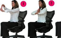 Thể dục với ghế xoay
