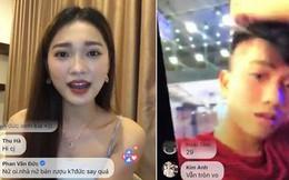 Văn Đức - Ngọc Nữ công khai Facetime, nói chuyện đầy ẩn ý