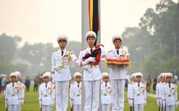 Lễ thượng cờ rủ Quốc tang cố Tổng Bí thư Đỗ Mười