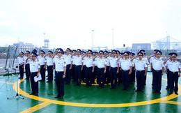 Tàu CSB 8001 tưởng niệm nguyên Tổng Bí thư Đỗ Mười tại Ấn Độ
