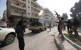 Các nhóm vũ trang Syria rút vũ khí hạng nặng khỏi khu vực phi quân sự
