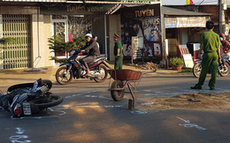 Trung úy quân đội tử vong sau va chạm với xe ô tô ở Đắk Lắk