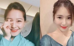 Nữ tiếp viên Hàng không xinh đẹp, sở hữu nhan sắc được so sánh với Hương Tràm