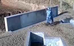 Lóng ngóng ném lựu đạn, học viên không quân Trung Quốc suýt mất mạng
