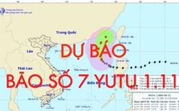 Dự báo thời tiết 1.11: Bão số 7 Yutu di chuyển sâu vào Biển Đông giật cấp 12, không khí lạnh bao trùm miền Bắc