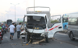 3 ô tô, 2 xe máy đâm nhau liên hoàn trên quốc lộ, 1 người chết