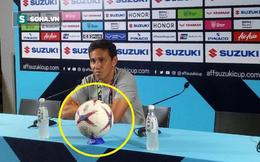"""HLV Indonesia bỗng dưng """"mất tích"""" ở buổi họp báo kỳ quặc sau trận thua đau Singapore"""