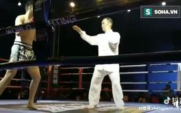 Võ sư phái Võ Đang thua ê chề, ngất tại chỗ bởi cú đòn duy nhất của võ sĩ MMA sau 8 giây