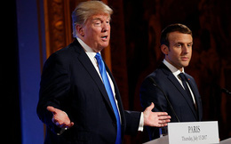 """TT Macron phản pháo loạt chỉ trích """"vỗ mặt"""" của TT Trump: Pháp không phải chư hầu của Mỹ!"""