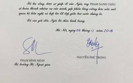 Đại sứ Việt Nam đầu tiên trình Quốc thư có chữ ký của Tổng Bí thư, Chủ tịch nước Nguyễn Phú Trọng