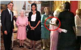 """Từng bị chỉ trích khi """"cả gan"""" khoác vai Nữ hoàng Anh, bà Obama lần đầu tiết lộ sự thật bất ngờ giữa hai người"""