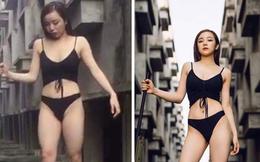 """Lộ ảnh vóc dáng chưa qua photoshop của """"hot girl ngủ gật"""" Hưng Yên nổi tiếng MXH nhờ gợi cảm"""