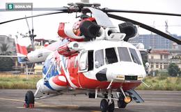 [ẢNH] Cận cảnh 2 mẫu trực thăng hiện đại bậc nhất của Nga tại sân bay Gia Lâm