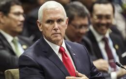 """Ông Pence """"nói thẳng mặt"""": TQ quân sự hóa và bành trướng ở biển Đông là phi pháp, nguy hiểm, nguy hại cho thế giới"""