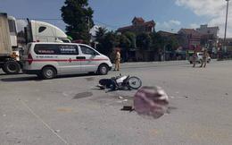 Đâm chết người ở ngã tư, xe đầu kéo phóng ga bỏ chạy khỏi hiện trường