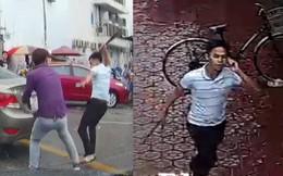 Vụ người đi xe máy chặt tay tài xế ô tô: Lộ diện hình ảnh hung thủ
