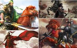 """10 võ tướng mạnh nhất Trung Hoa: Quan Vũ """"đội sổ"""", Lữ Bố, Nhạc Phi vẫn thua nhân vật này"""