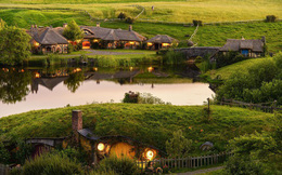Ngôi làng độc đáo khi toàn bộ các nhà trong làng được xây dựa trên ý tưởng về ngôi nhà của người lùn Hobbit