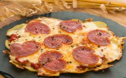 Chẳng phải nhọc công nhào bột, tôi làm đế bánh pizza nhanh hơn nhiều với nguyên liệu siêu rẻ