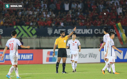 HLV Park Hang-seo bực dọc, phản đối quyết định của trọng tài sau trận hòa đầy tiếc nuối