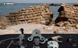 Phát hiệnkho báu thời La Mã trong xác tàu 1.600 năm tuổi ngoài biển Địa Trung Hải