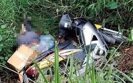 Người đàn ông chết dưới cống sâu 2m, bị xe máy đè lên