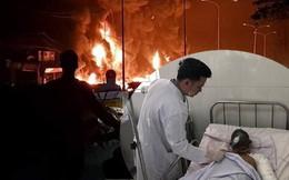 Vụ hỏa hoạn khiến 6 người chết: Tài xế xe bồn bị phỏng 37%, được chăm sóc đặc biệt