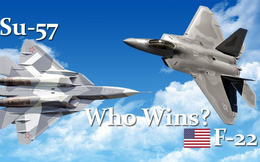 """""""Không, Su-57 chẳng đời nào vượt trội hơn F-22!"""""""