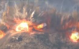 Ảnh: Triều Tiên, Hàn Quốc cho nổ tung các chốt gác ở khu phi quân sự